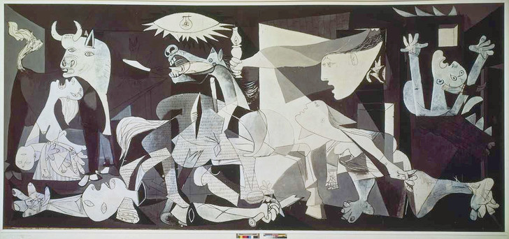 Guernica picasso huile toile 349 777 metres 1 728 342