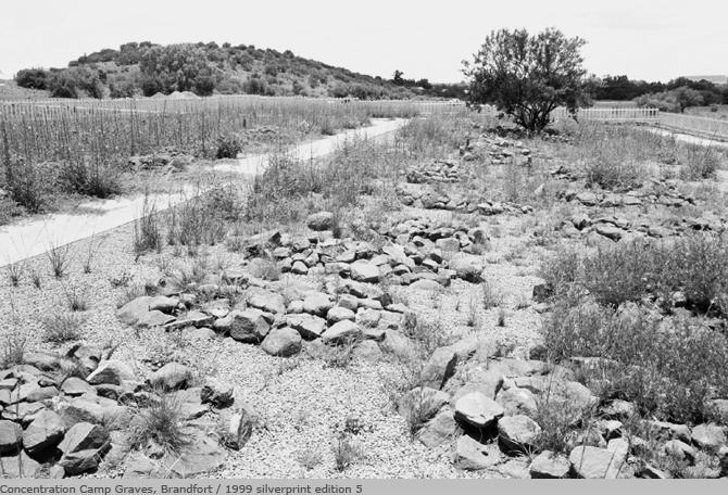 Concentration camp graves brandfort